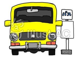 バス停イラスト
