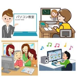 パソコン教室-COLLAGE