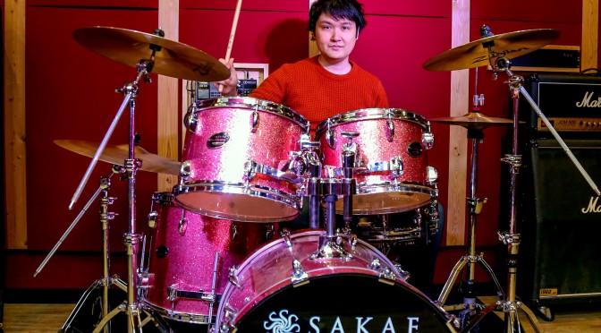 ドラム、カホン講師【日隈 尚道】先生 自己紹介