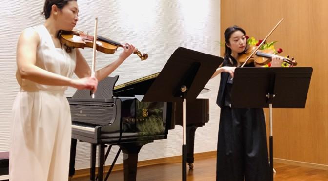 ガヴォット(管弦楽組曲第3番第3楽章)/ヴァイオリン二重奏