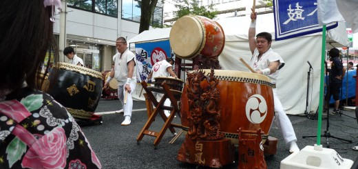 親子三代夏祭り「和のステージ」侍P1090207