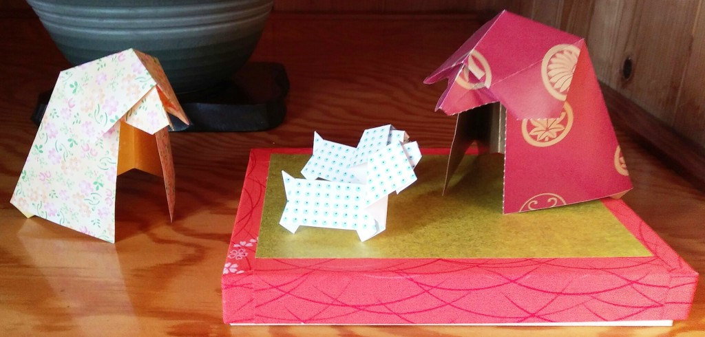 origami inuno oyako appu