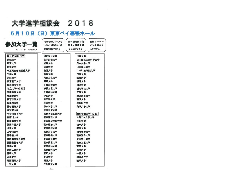 daigaku shingaku soudankai 2018 chiran