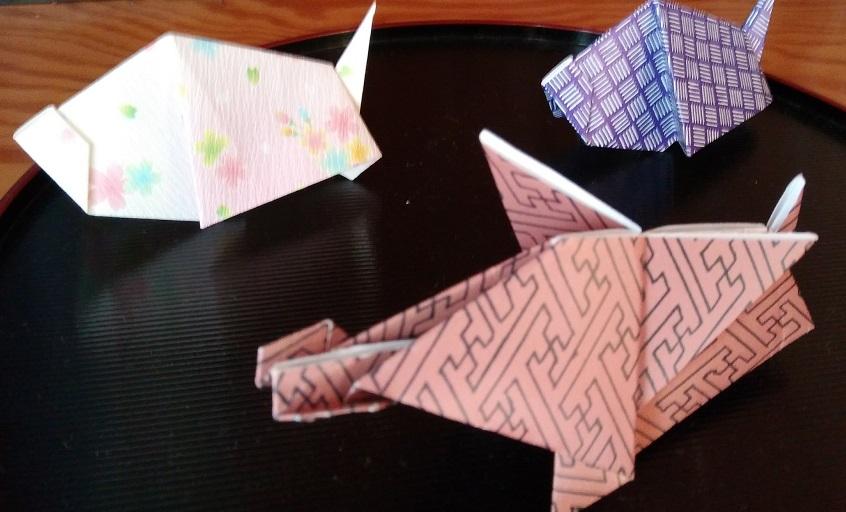 inoshishi origami