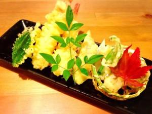 季節の千葉野菜天婦羅