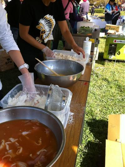 浜祭2012調理1
