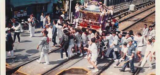 25年前の神輿2