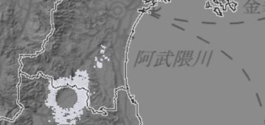 気象レーダー丸い雲 (3) - コピー