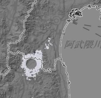 気象レーダー丸い雲 (4) - コピー