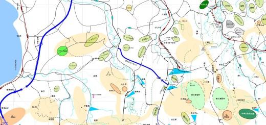 房総丘陵道路概念図B