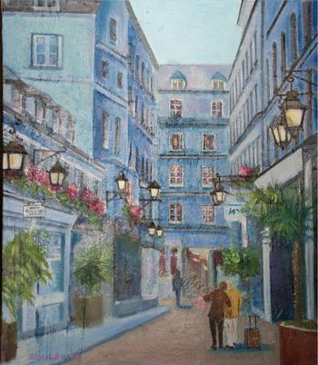 パリの小路