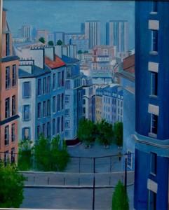パリ北部の眺望