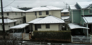 時ならぬ雪B170327